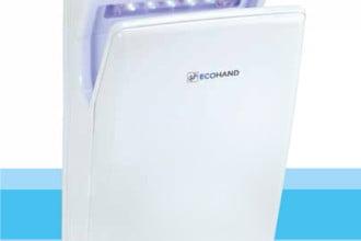 Sèche main lame d'air Ecohand de Unelvent