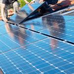 Pose panneau solaire sur maison bcc