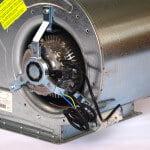 Moteur et cablage - Ventilateur centrifuge Lemmens
