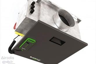 Caisson de ventilation simple flux – EasyVEC (Aldes)