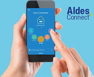 Application Aldes Connect pour Smartphone